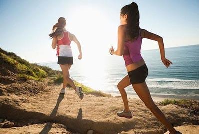 ragazze running